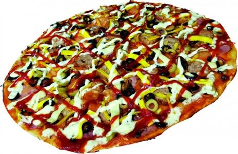 "Пицца ""Шашлычная"""